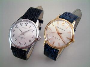 時計ベルトをモレラートのアマデウスに交換したSEIKOロードマーベル初期型