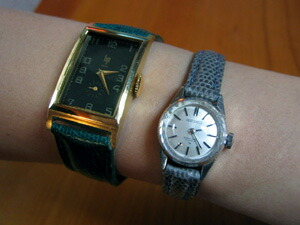 時計ベルトをモレラートのビオリノに交換したキSEIKO