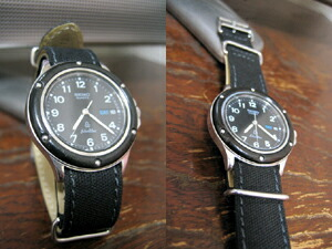 時計ベルトをモレラートのジャンプに交換したセイコー・シルバーウェーブ