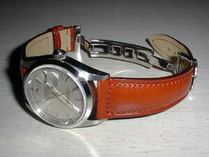時計ベルトバックルをモレラートのDEPLOJANTE/2に交換したROLEX DATEJUST