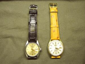 時計ベルトをモレラートのルイジアナに交換したROLEX PRECISION(手巻き)
