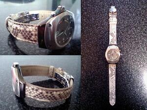 時計ベルトをモレラートのセリーヌに交換したSEIKO KINETIC ARCTURA (3M22)