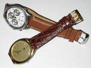 時計ベルトをモレラートのティポパテックに交換したUniversal Geneve GILTSHADOW
