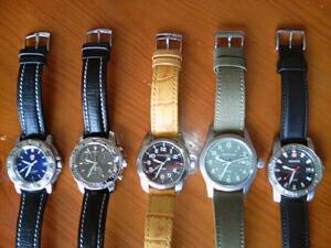 時計ベルトをモレラートのダンカンに交換したWENGER Alpine