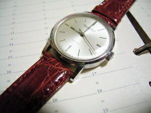 時計ベルトをモレラートのアマデウスに交換したインターナショナル Cal.853