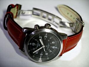 時計ベルトバックルをモレラートのDEPLOJANTE/2に交換したSEIKO SUS