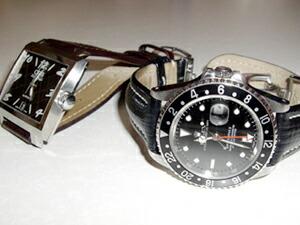 時計ベルトバックルをモレラートのDEPLOJANTE/2に交換したROLEX GMT MASTER II