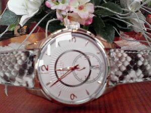 時計ベルトをモレラートのセリーヌに交換したハミルトン・ジャズマスター・プチセコンド