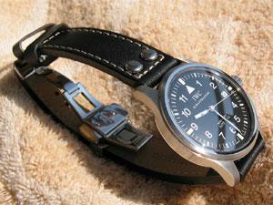 official photos 8f401 ca817 IWC・ルイヴィトンにモレラート時計ベルトを装着