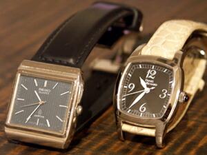 時計ベルトをモレラートのダンカンに交換したセイコーエンブレム