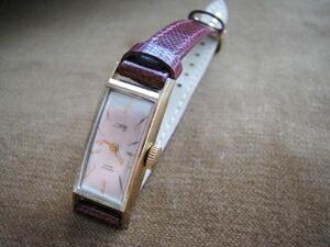 時計ベルトをモレラートのPISTOIAに交換したCITIZEN DRACY