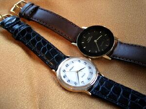 時計ベルトをモレラートのリバプールに交換したSEIKO DOLCE