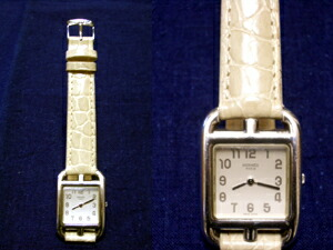 時計ベルトをモレラートのリバプールに交換したエルメスケープコッド