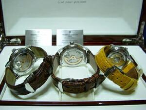 時計ベルトをモレラートのアマデウスに交換したフレデリック・コンスタント