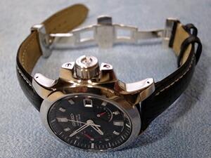 時計ベルトをモレラートのティポ・ブライトリング・クオイオに交換したセイコーブライツフェニックスSAGG-007