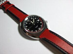 時計ベルトをモレラートのSLALOMに交換したオリエントスター