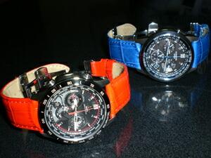 時計ベルトをモレラートのBOLLEに交換したカシオEDIFESとカシオOCEANUS
