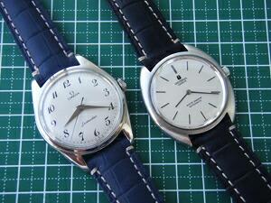 時計ベルトをモレラートのルノアールに交換したUniversal「WHITE SHADOW」