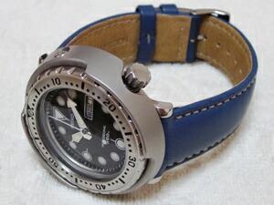 時計ベルトをモレラートのカスタンニョに交換したSEIKOマリンマスター SBBN007