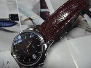 時計ベルトをモレラートのボルテラに交換したHAMILTON ジャズマスター viewmatic