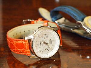時計ベルトをモレラートのAMADEUSに交換したカシオ リニエージ