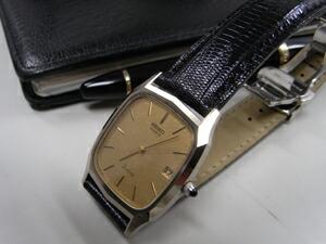 時計ベルトをモレラートのボルテラに交換したSeiko Dolce