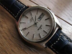 時計ベルトをモレラートのグットゥーゾに交換したセイコーVFA38クオーツ
