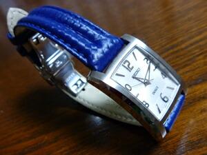 時計ベルトをモレラートのスピードに交換したSEIKO DOLCE