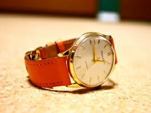 時計ベルトをモレラートのティポエルメスに交換したinternational Watch Company アンティーク