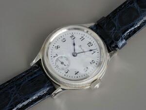 時計ベルトをモレラートのアマデウスに交換したハミルトン