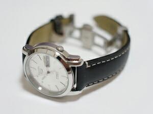 時計ベルトをモレラートのウォーホルに交換したセイコー5 SNKK65J1