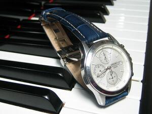 時計ベルトをモレラートのプラスに交換したセイコーSND363PC