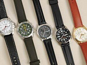 時計ベルトをモレラートのバイキングに交換したドルチェセグレートEX400BK