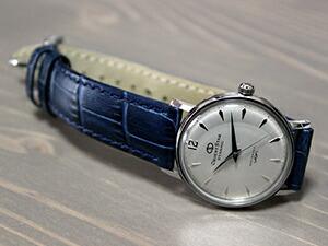 時計ベルトをモレラートのボーレに交換したオリエントオリエントスターダイナミック