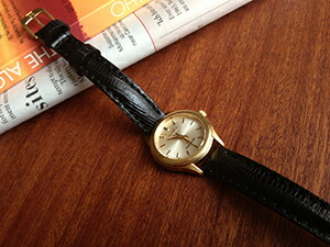 時計ベルトをモレラートのボルテラに交換したGrand Seiko