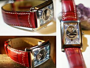 時計ベルトをモレラートのグットゥーゾに交換したフレデリック・コンスタントカレ