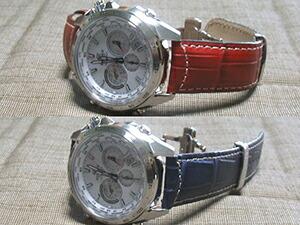 時計ベルトをモレラートのGUTTUSOに交換したCASIO EDIFICE