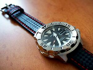 時計ベルトをモレラートのバイキングに交換したSEIKO SPRERIOR SRP307J1