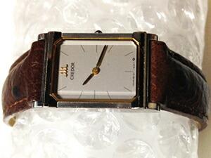 時計ベルトをモレラートのシャガールに交換したSEIKOクレドール8420-6980