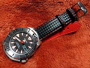 時計ベルトをモレラートのバイキングに交換したSEIKO DIVER'S SRP313J1
