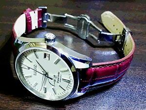 時計ベルトをモレラートのアマデウスに交換したGSスプリングドライブSBGA099