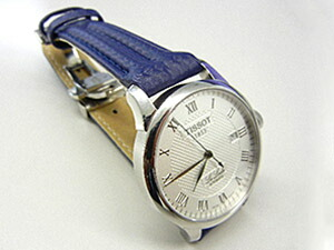 時計ベルトをモレラートのスピードに交換したTISSOT Le Locle AUTOMATIC