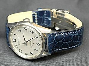 時計ベルトをモレラートのリバプールに交換したセイコー ロードマーベル36000