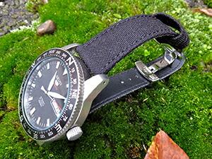 時計ベルトをモレラートのコーデュラ・ツーに交換したSEIKO 5 SPORTS SRP667J1