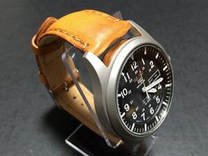 時計ベルトをモレラートのドランに交換したSEIKO 5 Sports SNZG15J1