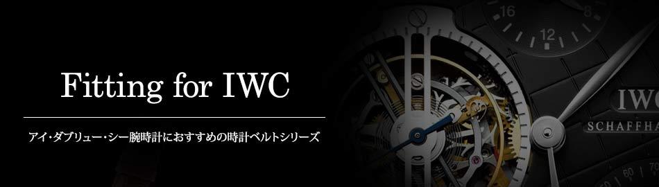 アイダブリューシー腕時計におすすめの時計ベルトシリーズ