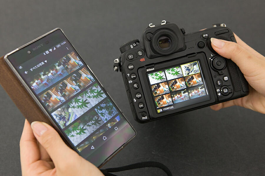 Nikon D500 SnapBridge