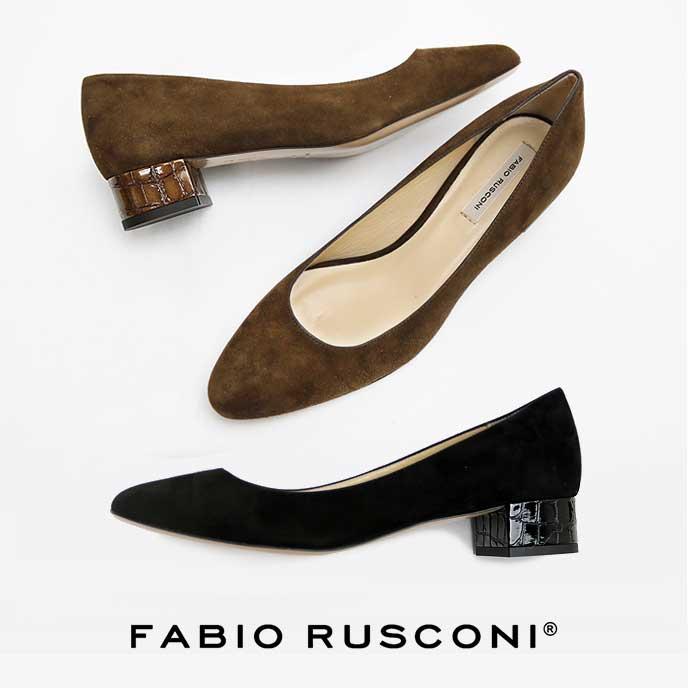 FABIO RUSCONI CACIO パンプス