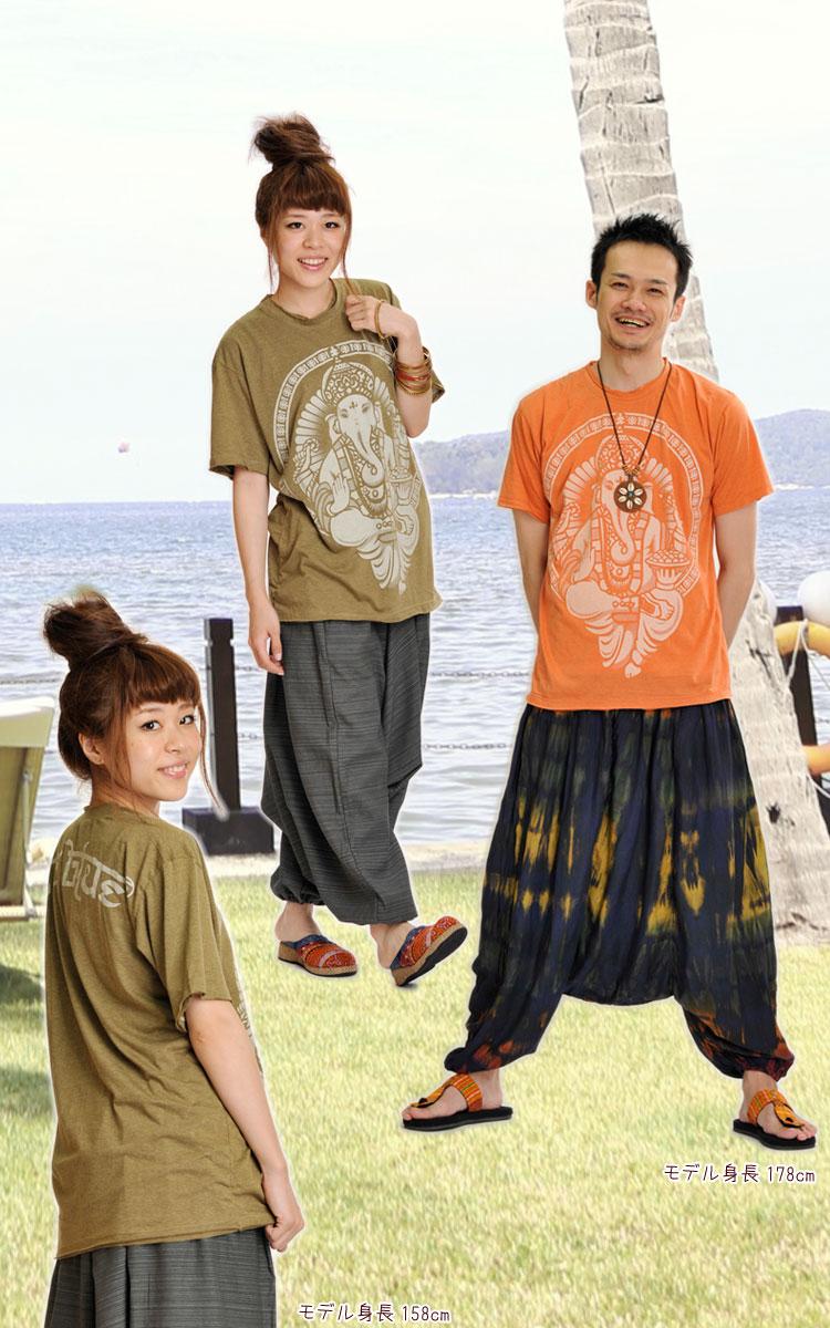 Soft cotton!ガネーシャTシャツ
