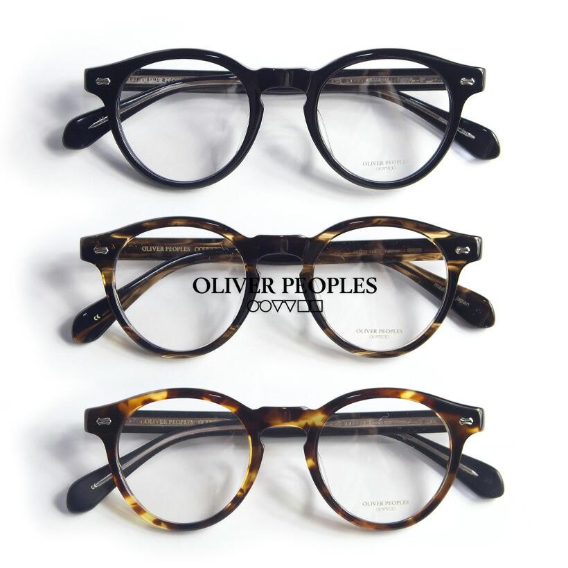 OLIVER PEOPLES/オリバーピープルズ/FELDMAN/セルボストンメガネ/度付き/伊達メガネ